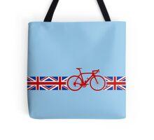 Bike Stripes Union Jack Tote Bag