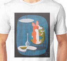 Corgi At Home Unisex T-Shirt