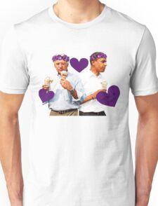 Joe Biden and Barack Obama Eating Ice Cream Unisex T-Shirt