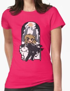 The Hyrulean Crow Womens Fitted T-Shirt