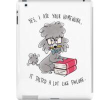 Professor Poodle iPad Case/Skin