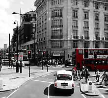 London - Black, White and Red by PlaneMad1997