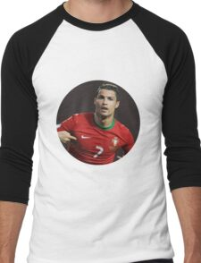 cristiano ronaldo cr7 Men's Baseball ¾ T-Shirt