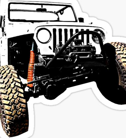 Jeep TJ Sticker Sticker