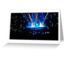 McBusted Space Ship Greeting Card
