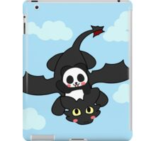 How panda train your dragon iPad Case/Skin