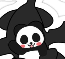 How panda train your dragon Sticker