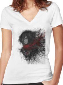 Mikasa Ackerman Women's Fitted V-Neck T-Shirt