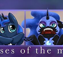 Phases of the Moon by midnightpremier