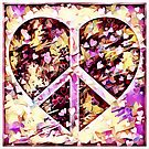 Peace Hearts by Dana Roper