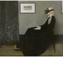 Whistler's Mother - Oculus Rift Photographic Print
