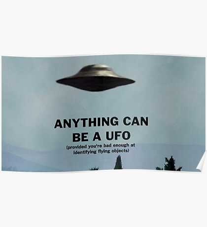 Anything Can Be A UFO 2: Electric Boogaloo Poster