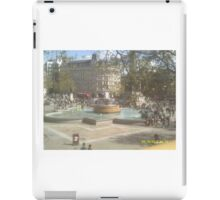 London Fountain iPad Case/Skin