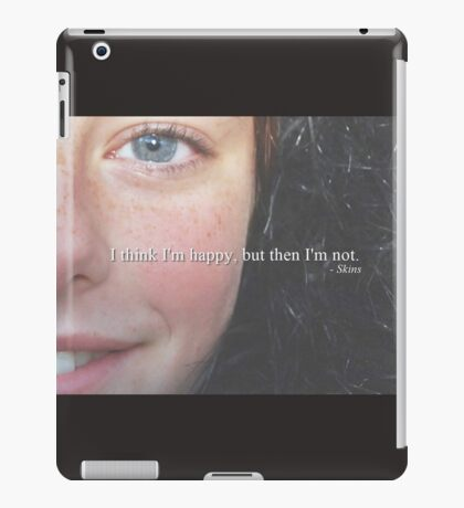 i'm not happy iPad Case/Skin