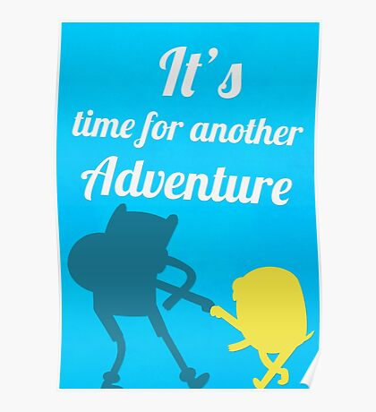 It's Adventure Time! Poster