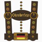 Oktoberfest Lederhosen Funny by FireFoxxy