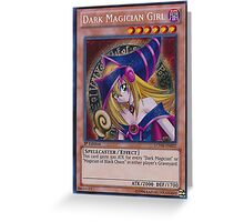 Dark Magician Girl Greeting Card
