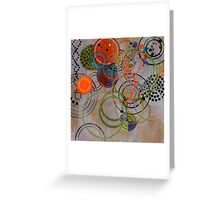 Abstract composition 477 Greeting Card