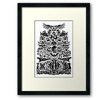 Tatau/Tattoo Framed Print