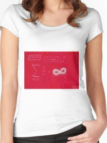 Conjecture On Arithmetic Progression With Paul Erdos Women's Fitted Scoop T-Shirt