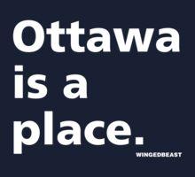 Ottawa is a Place Kids Tee