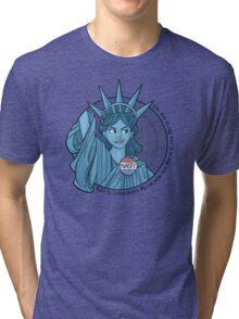 Nasty Lady Liberty Tri-blend T-Shirt
