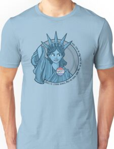 Nasty Lady Liberty Unisex T-Shirt