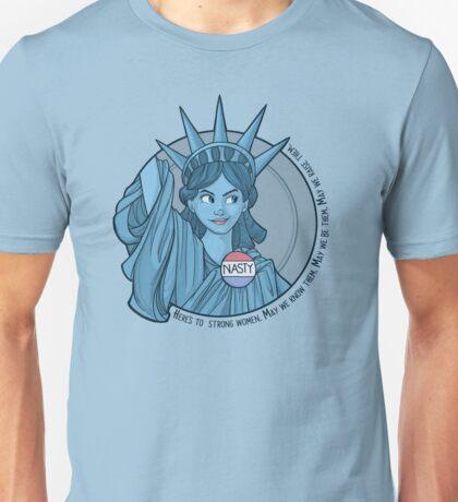 Nasty Lady Liberty Unisex T-Shirt