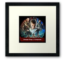 Stranger things Framed Print
