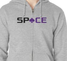 Space Ace Zipped Hoodie