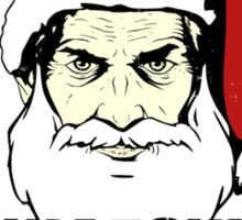 Big Brother Santa Claus Is Watching You Sticker