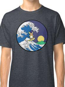 The Great Wave of Alola (Night) -Black Border Classic T-Shirt