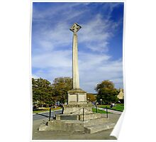 War Memorial at Broadway, UK  Poster