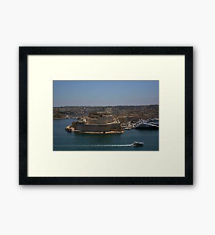 Fort St Angelo, Malta Framed Print