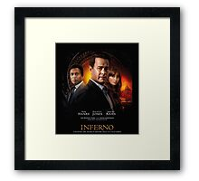 Inferno uncover the secret Framed Print