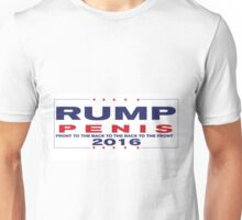 RUMP PENIS 2016 (back to the front to the front to the back) Unisex T-Shirt
