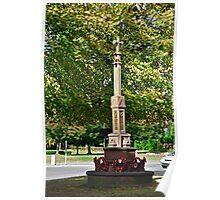 War Memorial, Stapenhill Poster
