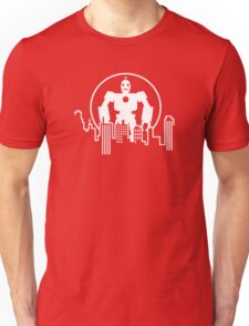 Giant  Robot - City Skyline Unisex T-Shirt