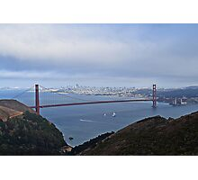 Sailing Under The Golden Gate Photographic Print