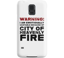 City of Heavenly Fire Samsung Galaxy Case/Skin