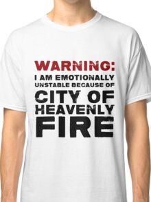 City of Heavenly Fire Classic T-Shirt