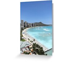 Waikiki Standard  Greeting Card