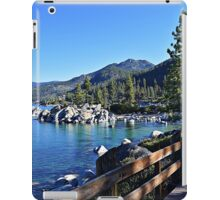 Sand Harbor Boardwalk iPad Case/Skin