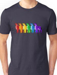 Hyena Rainbow  Unisex T-Shirt