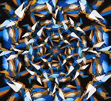 Kaleidoscope - Abstraction Collection by Noah Kantor
