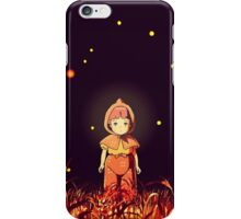 grave of the fireflies (la tumba de las luciérnagas) iPhone Case/Skin