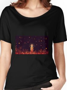 grave of the fireflies (la tumba de las luciérnagas) Women's Relaxed Fit T-Shirt