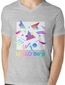 HELLO MEMPHIS (white) Mens V-Neck T-Shirt