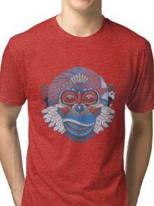 Mad monkey Tri-blend T-Shirt