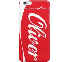 """Share a call"" -Oliver iPhone Case/Skin"